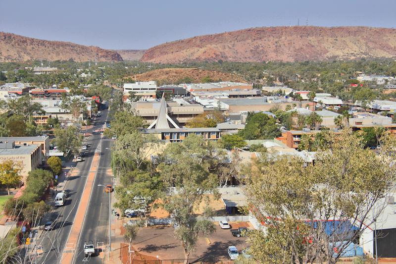 Alice Springs, Northern Territory, Australia   Follies of