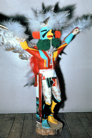 Blue Star Kachina Doll - Pics about space