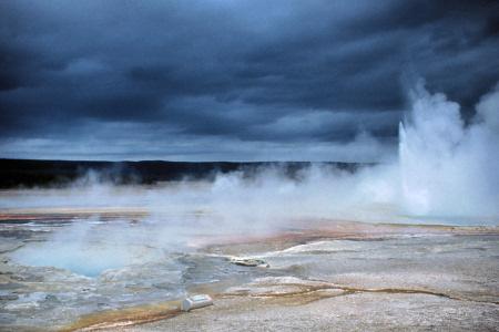 Living Travel Wyoming United States Yellowstone